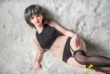 Qita Doll キュートな人形 60cm シリコン製ラブドール セックス可能 軽量化 3.5㎏ 収納が便利(隠しやすい)各オプションは掲載画像と同じ