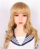 小柄人形 Sanhui Doll シームレスラブドール 103cm Gカップ #1頭部 お口の開閉選択可 フルシリコン製