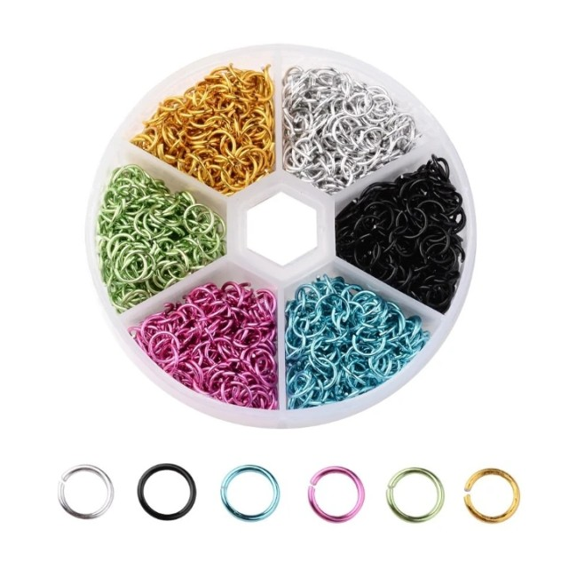 Colorful Jumpping ring Diy handmade Ornaments
