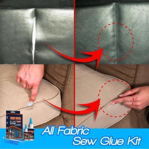 All Fabric Sew Glue Kit