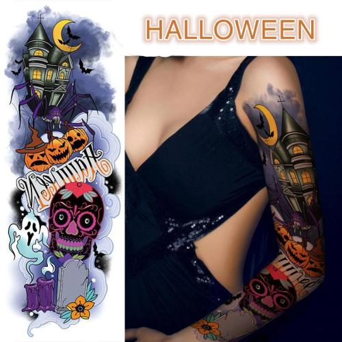 Halloween Style 3D Tattoo Stickers
