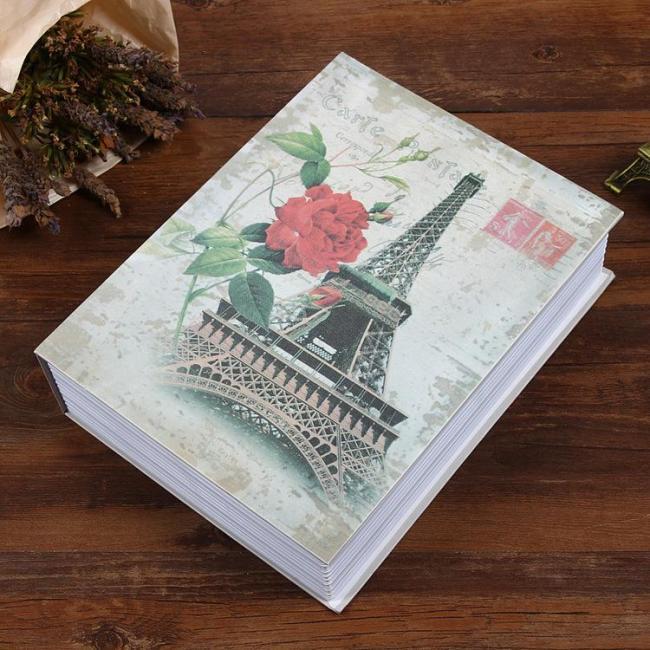 Fireproof Secret Book Safe Box