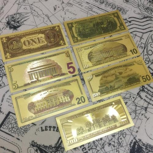 Lucky Gold Leaf Banknote