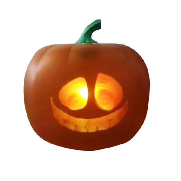 Talking Animated Pumpkin with Built-In Projector & Speaker