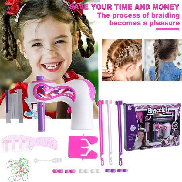HOT Automatic Hair Braider and Fancy Diamond Patch Kits