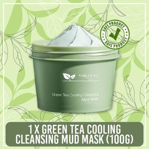 Green Tea Cooling Cleansing Mud Mask