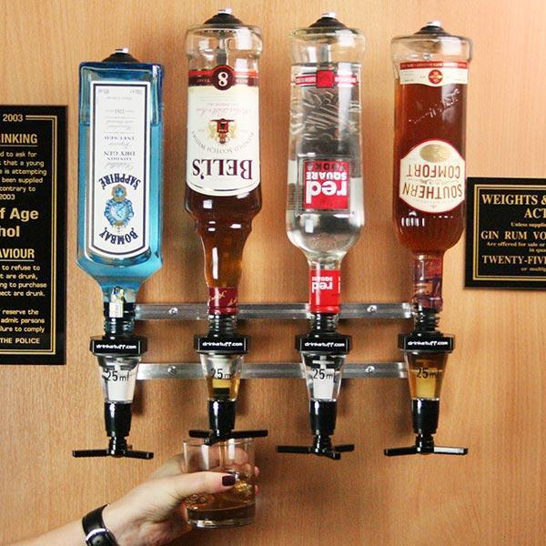 Wall Mounted  Liquor Dispenser