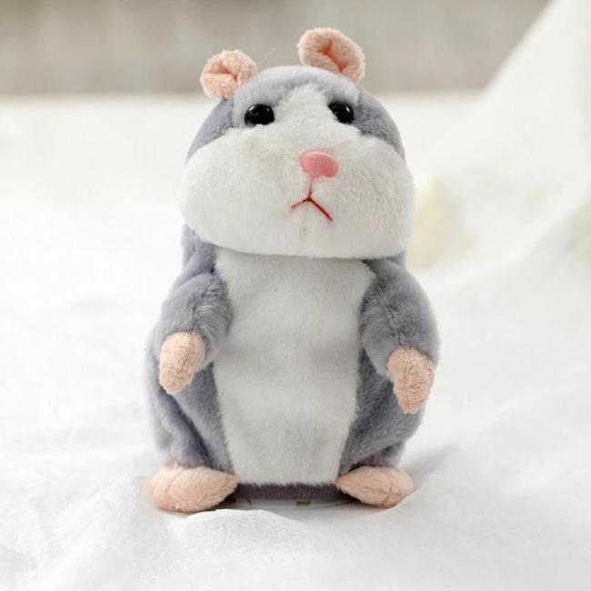 Cute Repeating Talking Plush Hamster