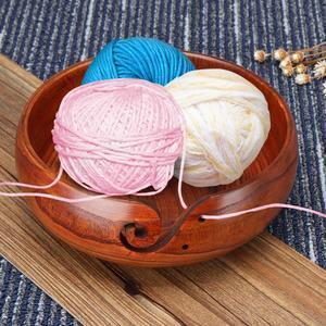 Handmade Wooden Yarn Bowl