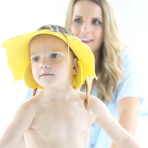 Bath visor Eye and ear protection