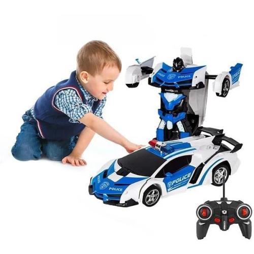 Remote Control Transforming Robot Car