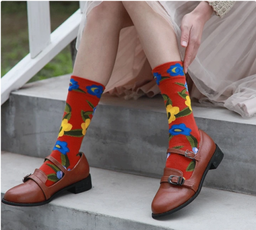 Women sock Art Collection