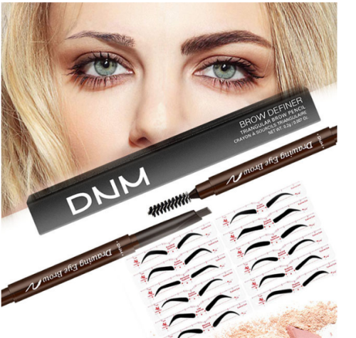 【buy more save more】3 Minutes Makeup-Eyebrow Stencil Kit