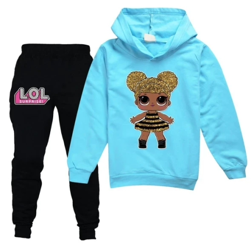 Christmas sale 50%OFF! Hoodie and pants set for children!