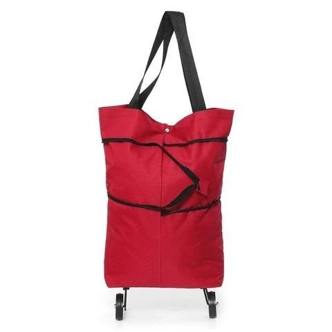 Foldable Shopping Cart Bag-can be shopping cart