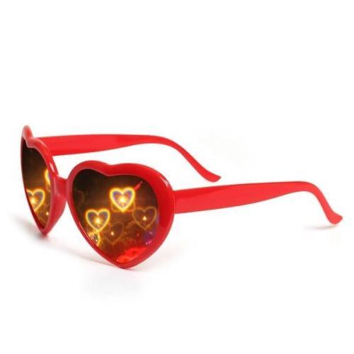 Heart Effect Diffraction Glasses