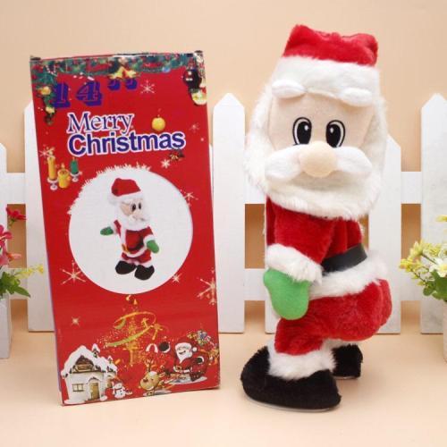 Twerking Santa Claus Christmas Doll