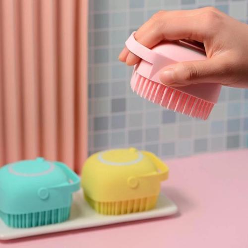 Silicone Bath Massage Soft Brush