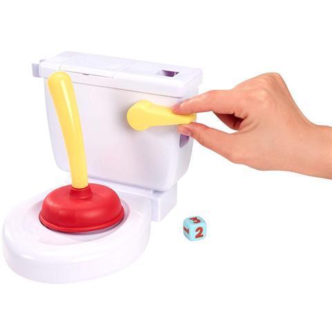 Flush The Toilet Party Game