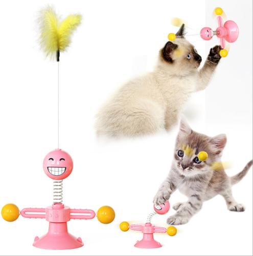 Multifunctional interactive pet radical toy