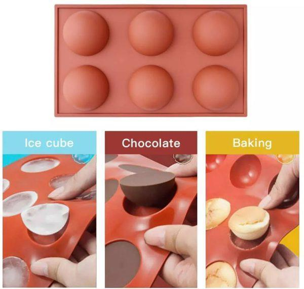 Semi Sphere Silicone Mold (🎁Welcome Thanksgiving & Christmas, Discounts🎄)