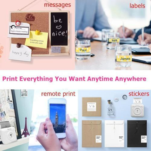 Mini Pocket Photo Printer