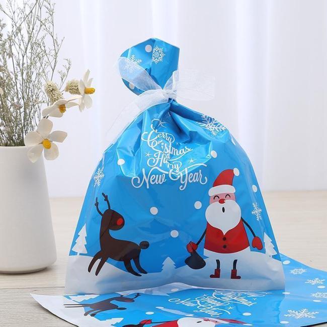 Drawstring Christmas Gift Bags