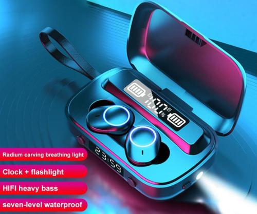 F9 wireless bluetooth headset private model TWS customized battery display touch 5.0