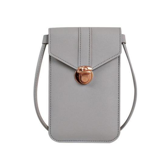 Touchable PU Leather Change Bag