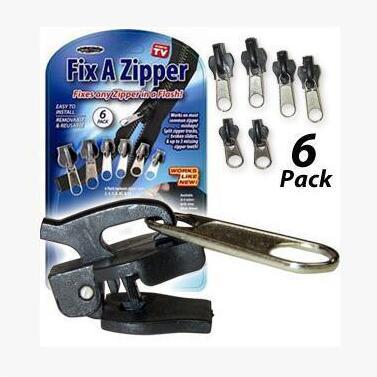 Instant Zipper Repair Kit (6 pcs)