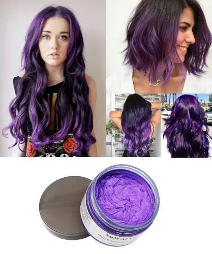 Fashion Colorful Hair Wax