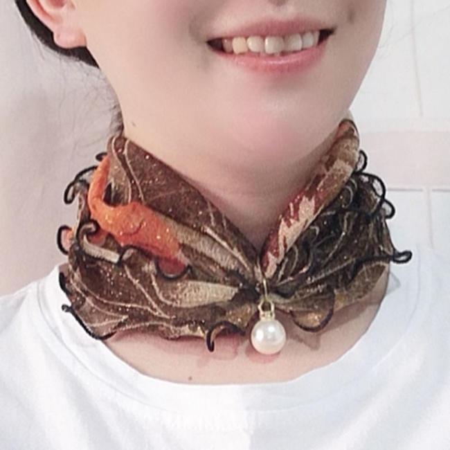 Pearl Lace Variety Scarf