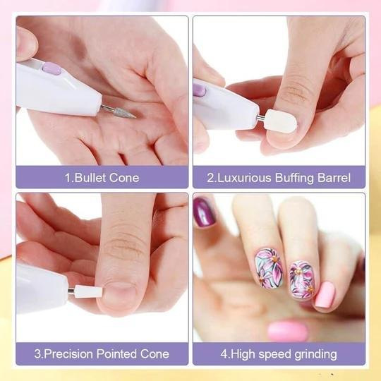Easy to use Electric Nail Care Kit