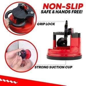 Blade Sharpener Mount-helpssharpen all types of knives,as quickly asjust 3 swipes