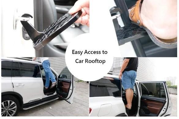 Multifunction Foldable Car Roof Rack Step