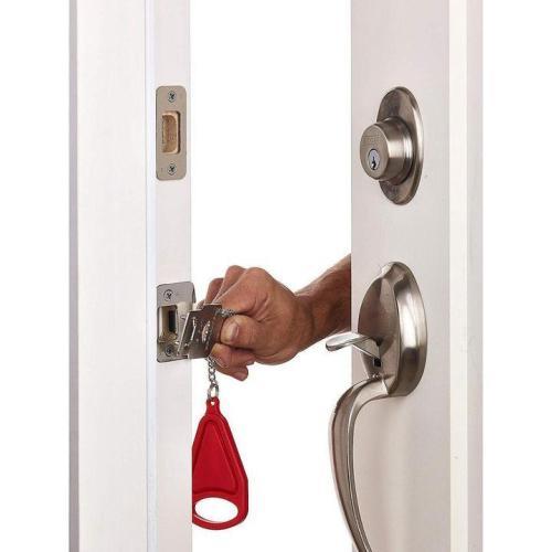 Portable Safety Door Jam Lock