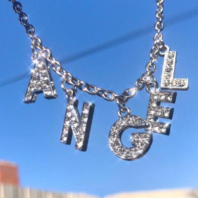 Short Pendant Letter Clavicle Necklace(Personalized)