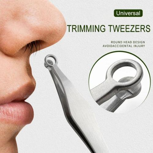 Universal Nose Hair Trimming Tweezers