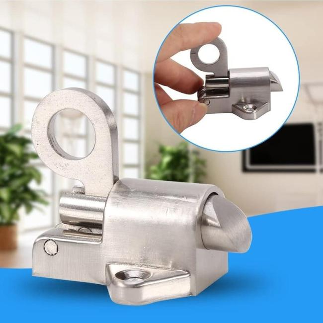 Stainless Steel Automatic Spring Loaded Latch