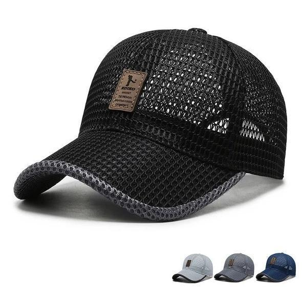 Summer Outdoor Casual Baseball Cap - Adjustable and quick-drying