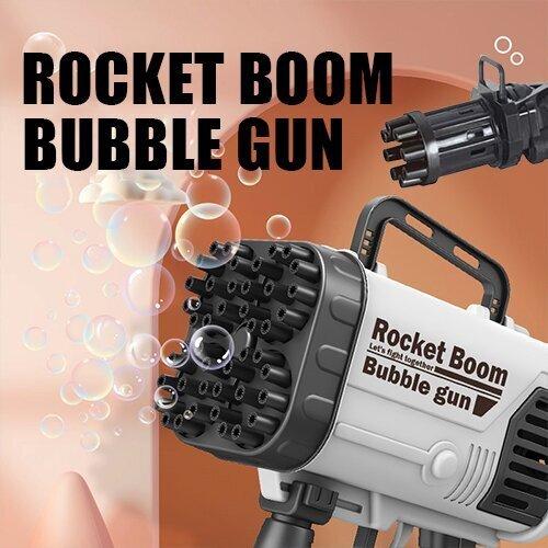The latest rocket launcher bubble machine