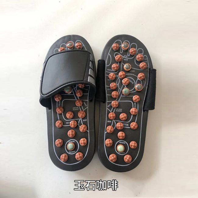Tiefenmassage>Rotierende Fußmassage-Hausschuhe
