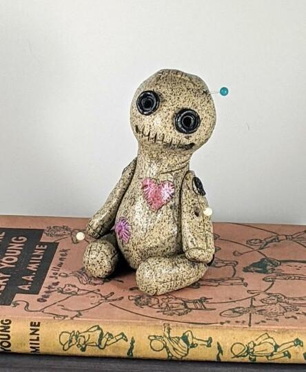 Voodoo Doll Cone Burner, Incense Burner