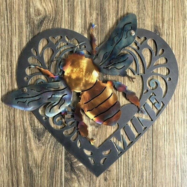 Keeper of the Bees Metal Art