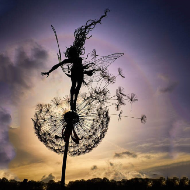 🔥Perfect Wonderland Garden Decoration -The naughty Spirits Are Dancing