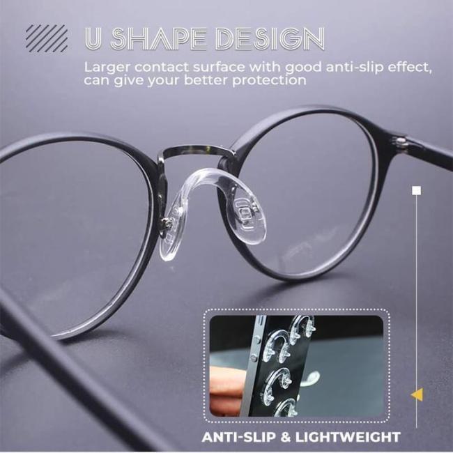 Comfy Silicone Eyeglasses Pads (10PCS)