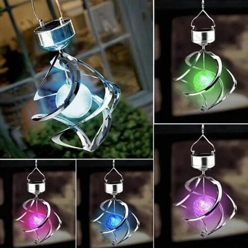 Solar Wind Chime-A Perfect Gift For Family