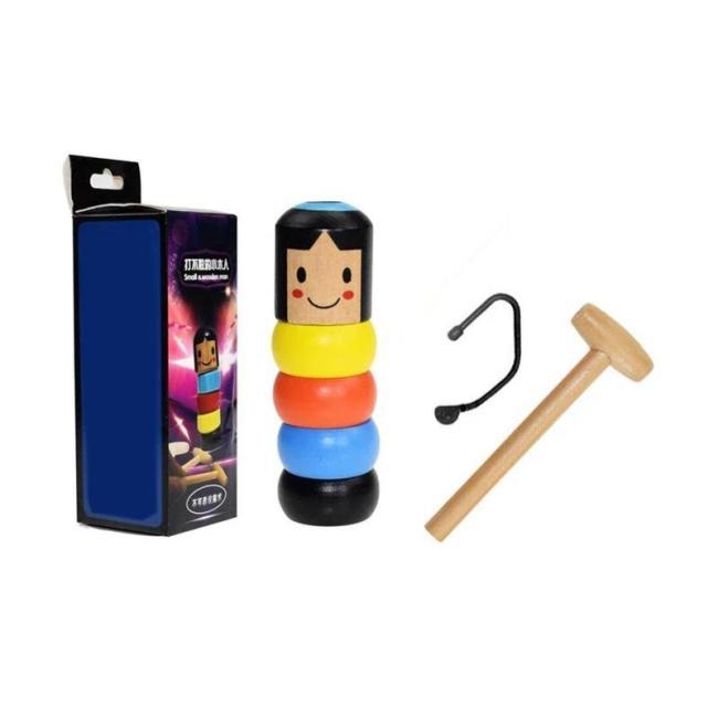 Unbreakable wooden Man Magic Toy