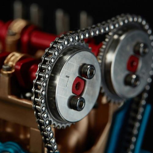 4 Cylinder Car Engine Kit Model
