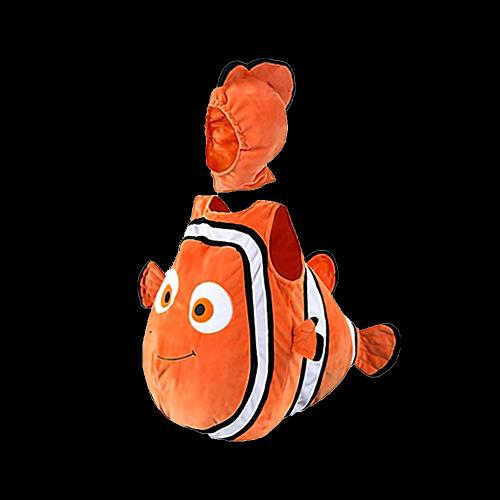 Toddler Unisex Clownfish Costume & Hat
